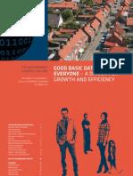 Denmark's Basic Data Register Road Map