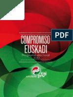 PNV Programa-electoral 2012