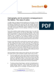 Discussion Paper - Demography and its economic consequences in the Baltics