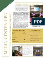 Media Monthly Report