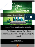 {Sabeel} Divine Science - Part Two Retreat Notes