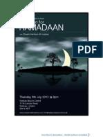 Your Plan for Ramadhan - Sheikh Haitham Al Haddad