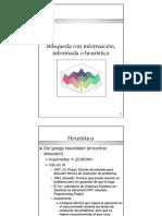 ALgoritmo A, IDA , Información Heurística