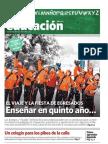 Entrevista para suplemento Clarin Educacion