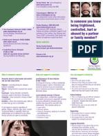 DA Friends and Family DL Leaflet