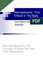 Farid - Hematotoxicity