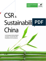 Sustainability and CSR in China Five Year Plan