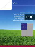 Guidance for commissioners of mental health services for young people making the transition from child and adolescent to adult services