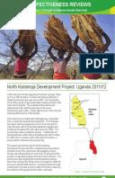 Effectiveness Review: North Karamoja Development Project, Uganda