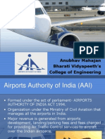 Airports Authority of India Industrial training presentation.