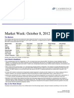 10-9-2012 Weekly Economic Update