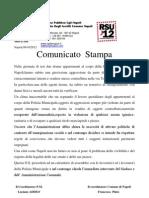 Comunicato Stampa p m 9Ottobre2012