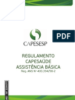 Regulamento Capesaúde Assistência Básica