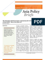 Part II - The Emerging ASEAN Economic Community (AEC 2015) and the Challenge of Innovation - Part 2 (George Abonyi, June 2012)