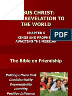 Jesus Christ PowerPoint Chapter 5