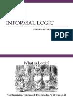 Informal Logic Presentation PDF