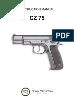 Instruction Manual CZ 75 SP 01