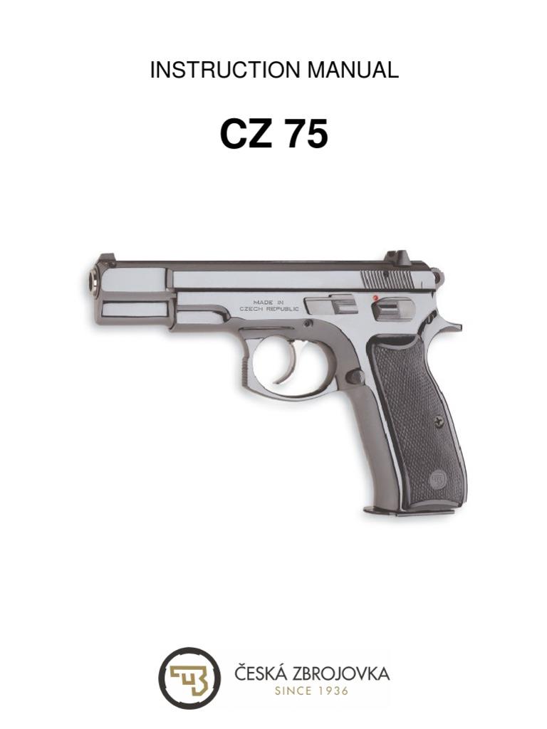 Cz 75 sp 01 manual safety gate
