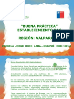 PPT BUENA PRACTICAS Jorge Rock Lara Quilpué