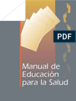MANUAL de Educacion Para La Salud
