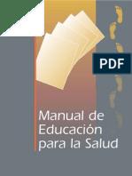 MANUAL de Educacion Para La Salud