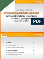 Reporte Sitio Web CEIEG Septiembre