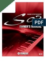 manual Yamaha S03 português