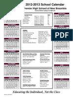 2012-2013 PHS New Braunfels