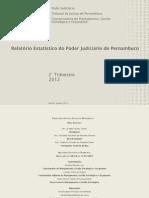 Relatório  Estatístico 2ºtrimestre 2012