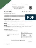 2006 CTSS Chem Prelim P2