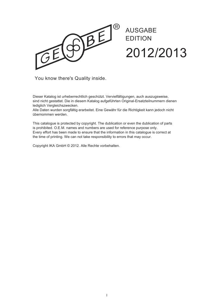 engine management 2012