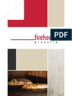 FireHouse Pizzeria Menu