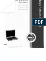 Dell M70 Quick Reference Guide