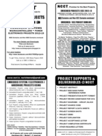 Embedded Project Titles Book 2012-12 -- Non IEEE Embedded Systems Projects