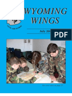 Wyoming Wings magazine, July 2006