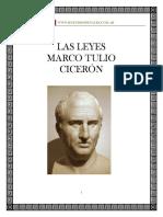Las Leyes CICERON
