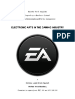 Electronic Arts in the Gaming Industry
