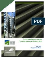 Guia 2012- Beca Futuros Constructores de Puerto Rico