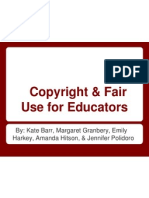copyright and fair use for educators