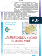 La Nato e lUnione Europea in M 32possibile