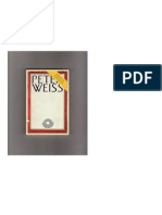 Escritos políticos. Peter Weiss