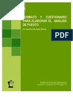 Formato y Cuestionario Para Elaborar El Analisis Puesto