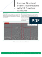Improve Structural Seismic Interpretation With 3d Curvature Attributes