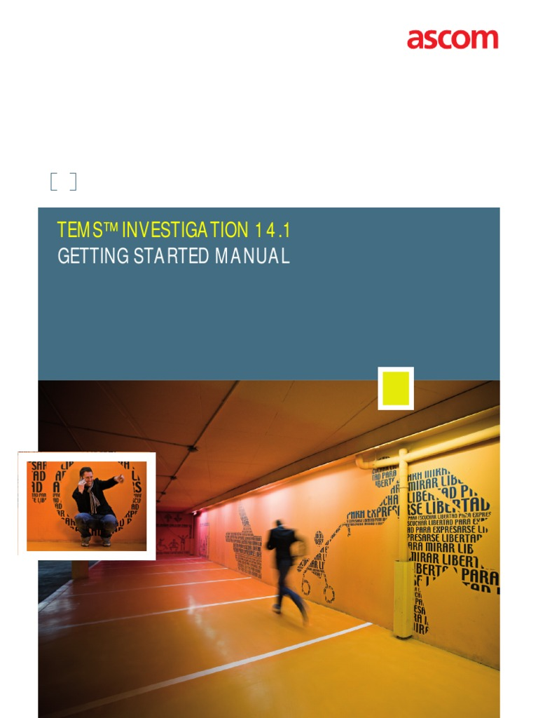 TEMS Investigation 14.1 Getting Started Manual | Windows Vista | Microsoft  Windows