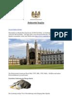 Doktortitel Kaufen - Cambridge - Ihr Erfolg