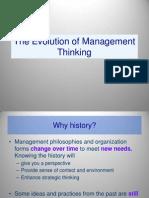 Evolution of Management Chapter 1&2