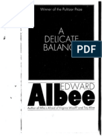 Albee, Edward - A Delicate Balance - Pocket Books Ed.