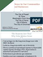 Why Solar Makes Sense in Our Communities CINCINNATI 9-25-2012 (2)