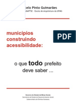 Municipios Construindo a Acessibilidade