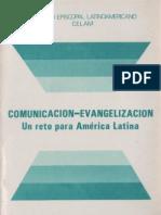 Celam - Comunicacion y Evangelizacion Un Reto Para America Latina